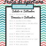 Festa di apertura dell'Oratorio – 16/17 settembre 2017