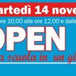 """Open Day Scuola Parrocchiale """"Maria Immacolata"""" – 14 novembre 2017"""