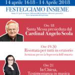 Festa per i 400 anni della Parrocchia – 14 aprile 2018