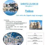 Gita a Padova e Cappella Scrovegni – 21 aprile 2018