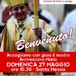 S. Messa con l'Arcivescovo Mario Delpini – 27 maggio 2018