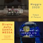 Orario Messe Maggio 2020